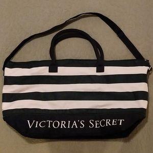 Victoria's Secret Weekender travel bag